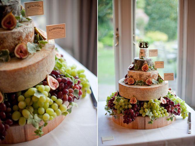 pièce montée fromage mariage vintage et rustique angleterre pic nic