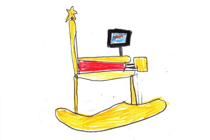 #Kindertekeningen omgetoverd tot prachtige #meubels!
