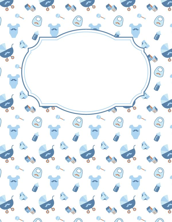Baby Shower Agenda Template Free Printable Baby Boy Binder Cover