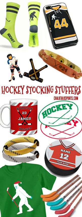 Our hockey stocking stuffers make the perfect gift for any hockey player in your life!