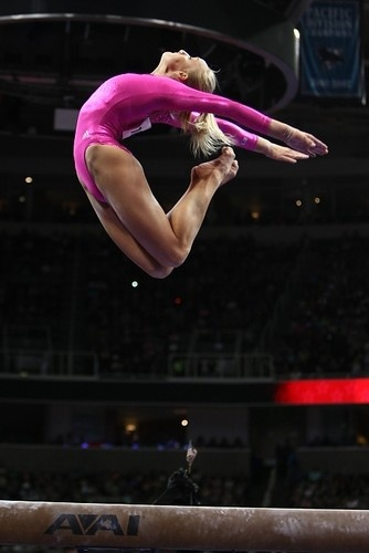 Nastia Liukin. Credit: Heather Maynez