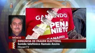 Denuncia del fraude electoral en #México