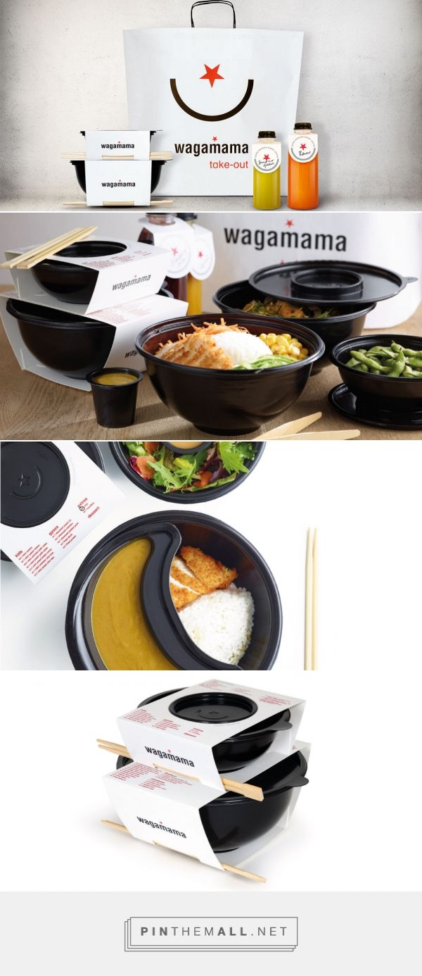 wagamama take-out — The Dieline - Branding & Packaging