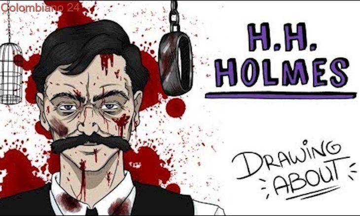 El Hotel De Los Horrores De Holmes Draw My Life Historia De Terror Holmes Marissa Meyer