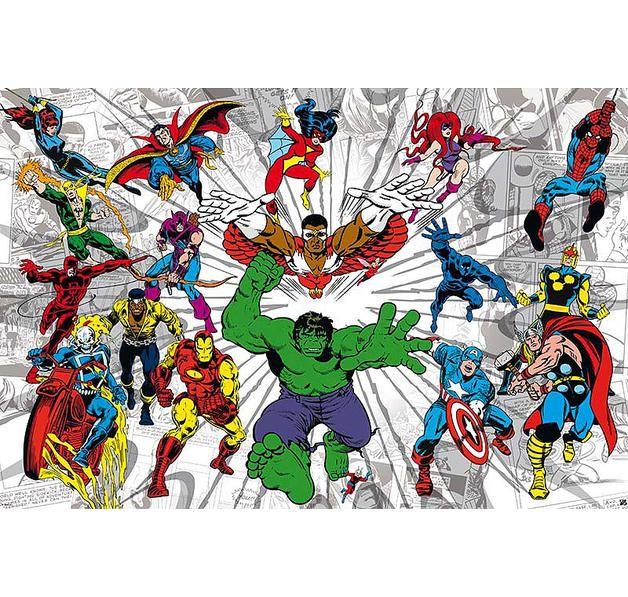 Marvel Comics Poster