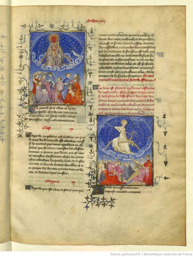 L'Epistre Othea à Hector, fol 7r