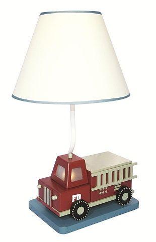 Firetruck, decor, firetruck, kids, lamp, baby and kids ...