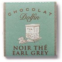 Ciocolata neagra cu ceai Earl Grey 2kg