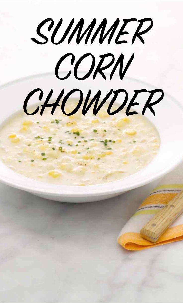 Summer Corn Chowder   Martha Stewart Living
