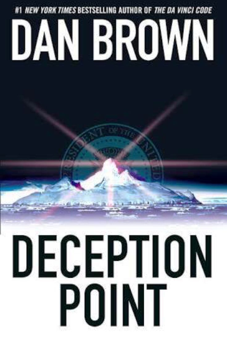 When you mix science and politics, you get deception. Deception Point by Dan Brown -bookerina.com