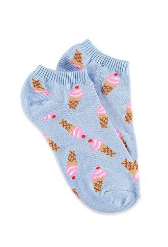 Ice Cream Dream Ankle Socks | Forever 21 - 2000125725