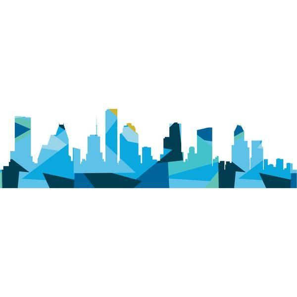 TX, Houston Skyline PDF Pattern