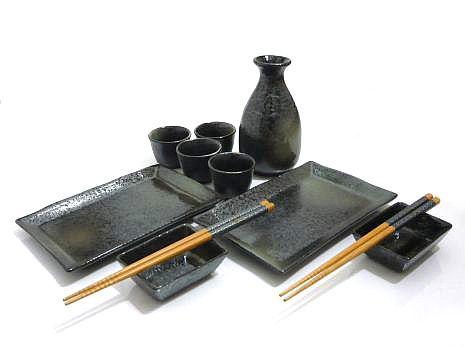 315 best images about sushi sets on pinterest indigo. Black Bedroom Furniture Sets. Home Design Ideas
