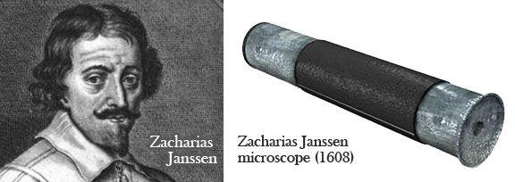 El microscopio de Zacharias Janssen