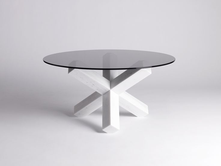 High Quality Isabell Gatzen | Side Table | Glass | Crossed Legs Nice Ideas