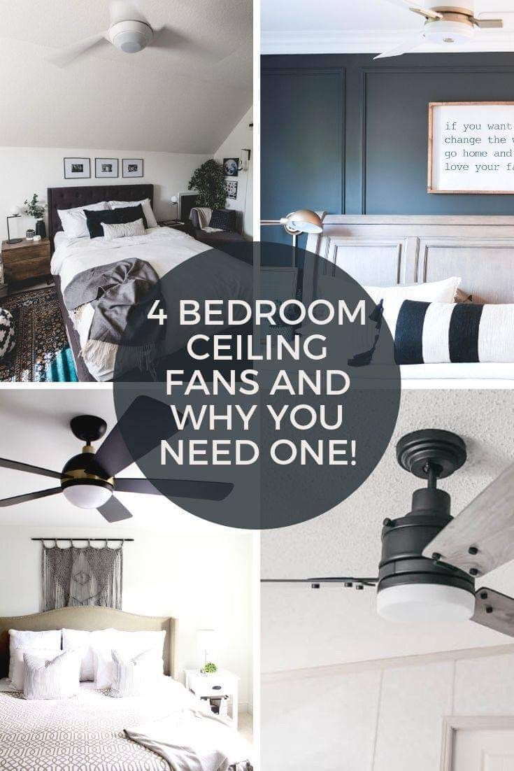 How To Install A Ceiling Fan On A Sloped Ceiling Bedroom Makeover Ceiling Fan Bedroom Bedroom Ceiling