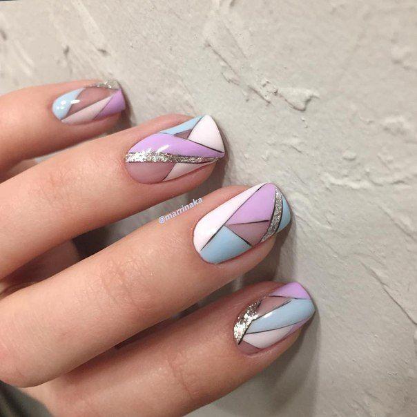 Best 25+ Geometric nail art ideas on Pinterest