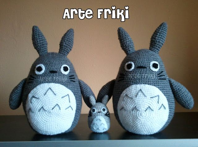 Amigurumi Totoro Receita : Best totoro amigurumi images amigurumi patterns
