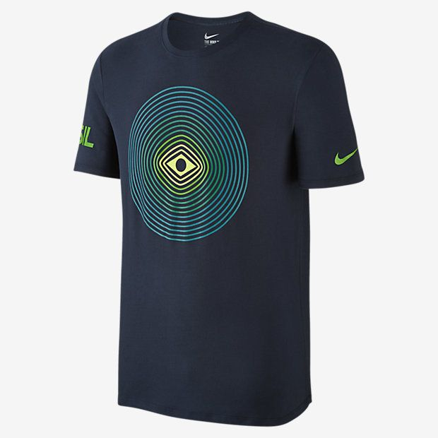 EVERYDAY COMFORT The Nike Team Brazil Victory Men's T-Shirt features national details on soft cotton for lasting comfort. Product Details Rib crew neck with interior taping Fabric: 100% cotton Machine wash Imported