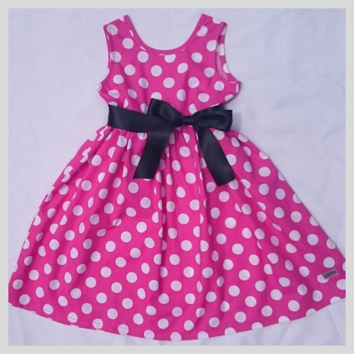 Pink Polka 1 -2 years | Lil Joy pty (ltd). Pefect for mickey mouse party or because!!
