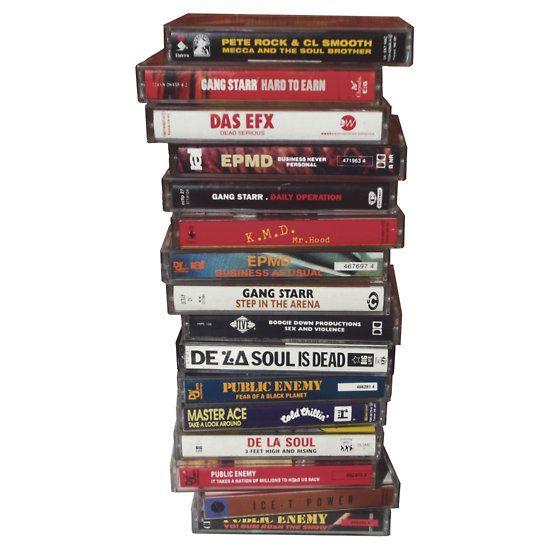 Golden era classic rap tapes by philmart