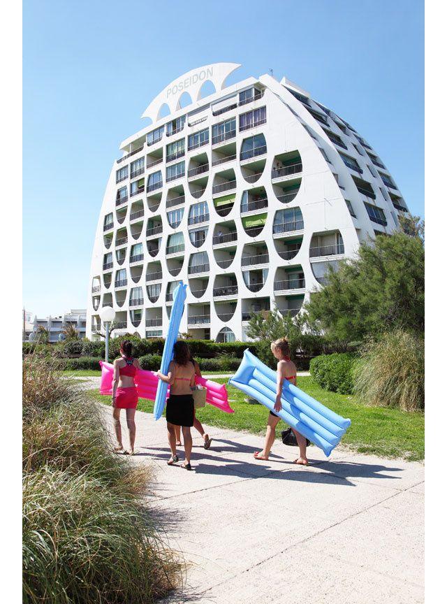 La Grande Motte Photographiee Par Vincent Mercier Photographie Architecture Moderne Et Vacances 2018