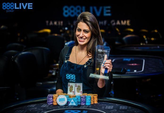 Участница покерного турнира WSOP Europe 2017 Вивиан Салибы подписала контракт с командой 888poker.  #NewsOfGambling #Новости_покера #Новости #Покер #WSOP #NOG