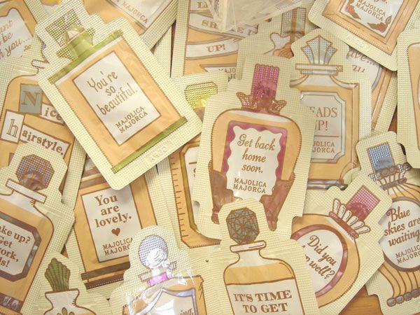 乙女心をくすぐるパッケージ*マジョリカマジョルカ   カラー、色彩ご提案の東京カラーズ株式会社