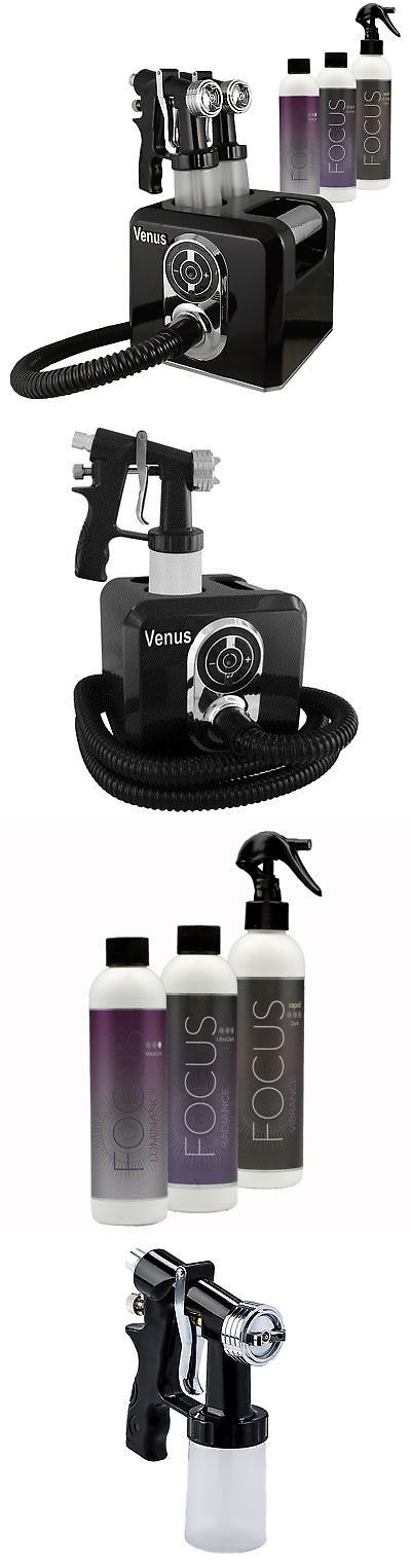 Airbrush Tanning Kits: Venus Spray Tanning Machine Kit With Sunless Airbrush Tanning Solution (Black) -> BUY IT NOW ONLY: $209 on eBay!