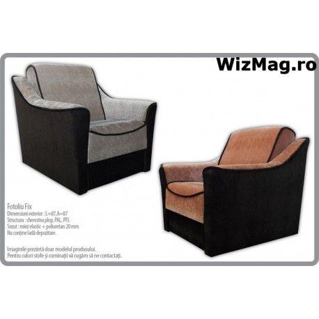 Fotoliu modern Fix WIZ 0036