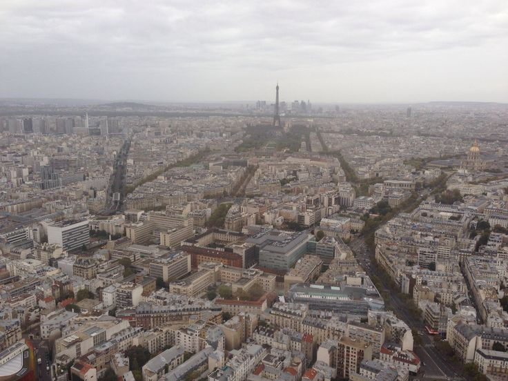 View from the 56th floor of Tour Montparnasse