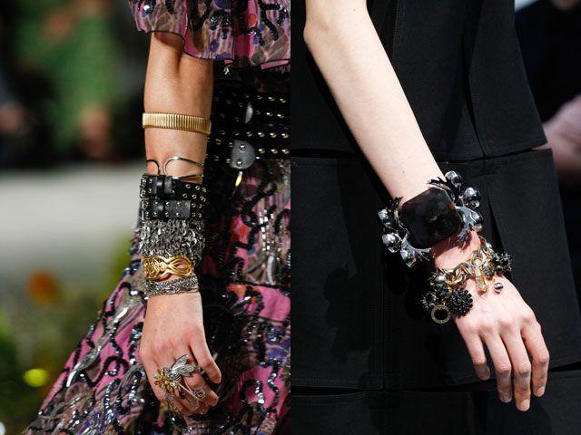 Модные многослойные браслеты 2017