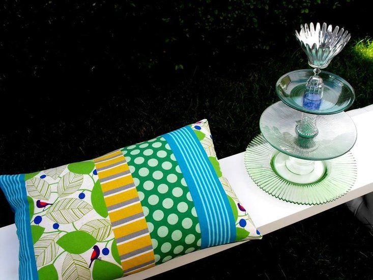 Etagère van Fontijn Design - Kussen van Studio Zeepsop