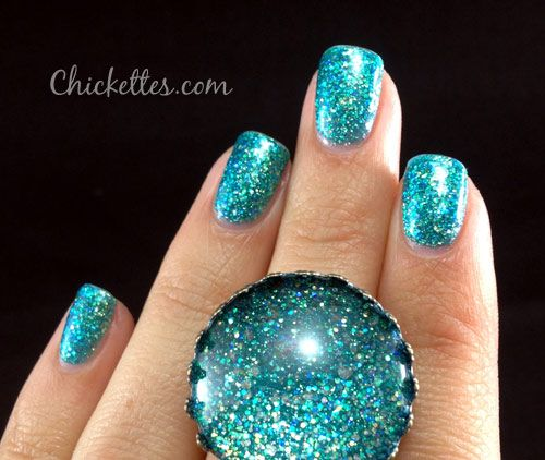 Julep Nail Polish Color Harper Teal Blue Green Micro Glitter I Call This My Mermaid 2017 Our Collection In 2018