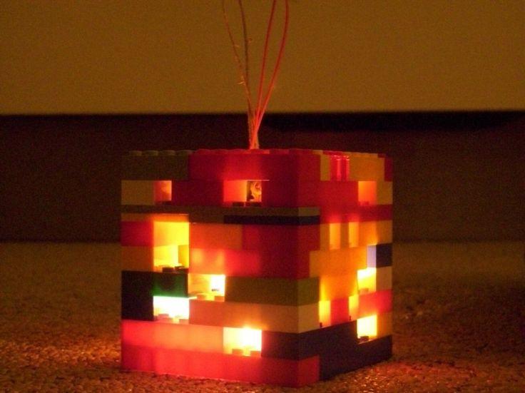Lego Lampion voor Sint Maarten  Pin jouw eigen lampion met #stmaartenBruna en maak kans op een Bruna cadeaukaart twv €25,-