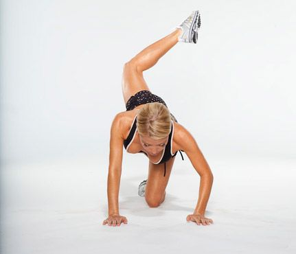 Core, Butt and Thigh workout from Tracy Anderson.