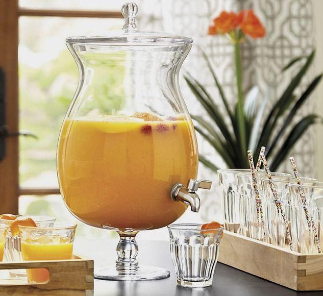 Vittoria Glass Beverage Dispenser - Traditional - Beverage Dispensers - by Ballard Designs