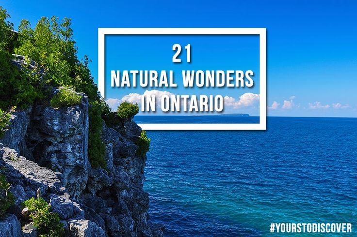 21 Natural Wonders in Ontario