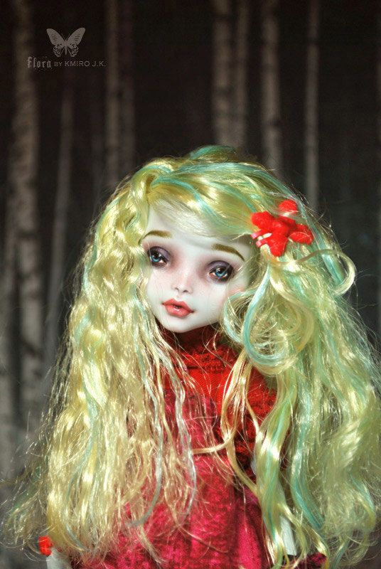 1/6 OOAK Mattel Monster High MH Lagoona Blue by kmirocreations
