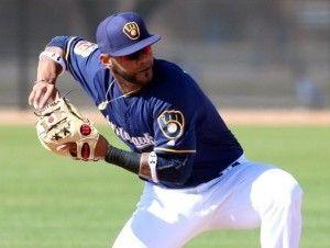 Jonathan Villar, el nuevo segunda base de los Cerveceros