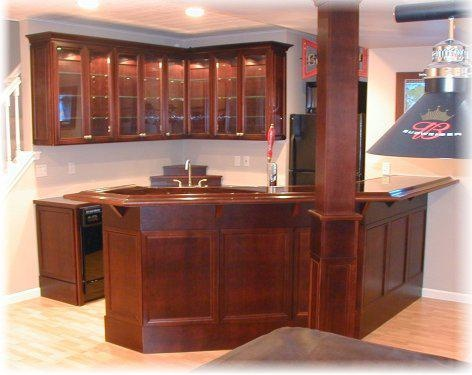 Custom Home Bar, I Will Have This.
