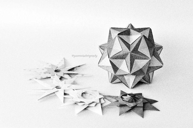 Star Assorted  #origami #star #papercraft #kusudama #myfolding #zusannasphotography #zusannascraft