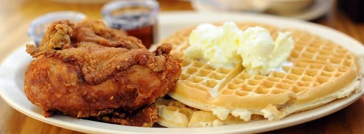 Roscoe 39 s house of chicken and waffles is coming to anaheim for Ada s fish fry