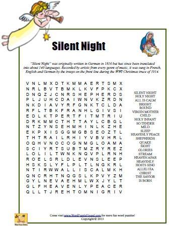 Christmas Carols - Silent Night Lyrics | MetroLyrics