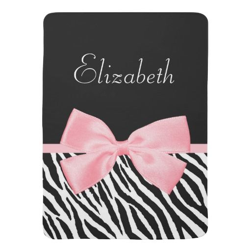 Pink Zebra Crib Bedding Sets