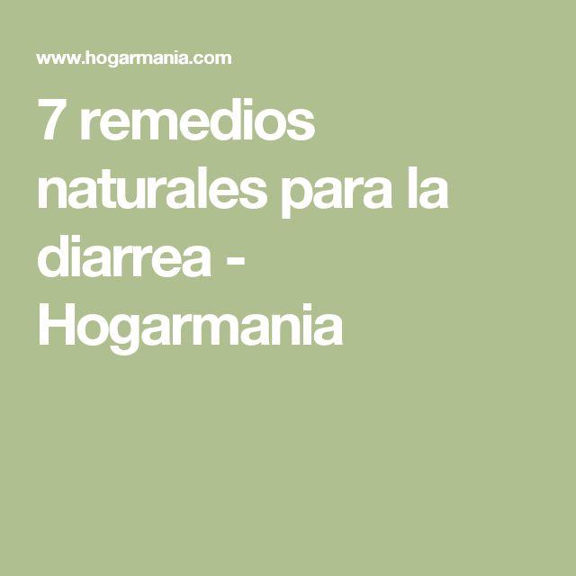 7 remedios naturales para la diarrea - Hogarmania