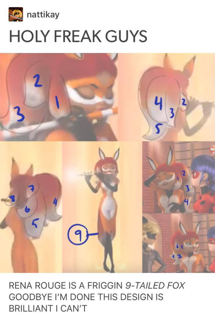 Holy chiz, this is, unbelievable. You can't say that this is coincidence. Something fishy is going on here. The nine-tailed Fox must represent something. (Maybe she's a demon inside ,idk)