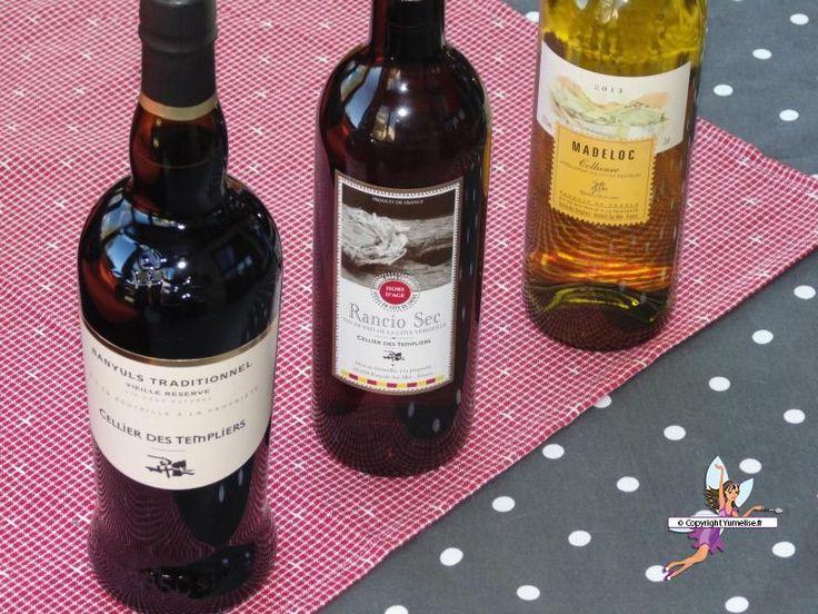 Terres des Templiers : les Grands Vins de Banyuls et Collioure. Recette de cuisine ou sujet sur Yumelise blog culinaire.