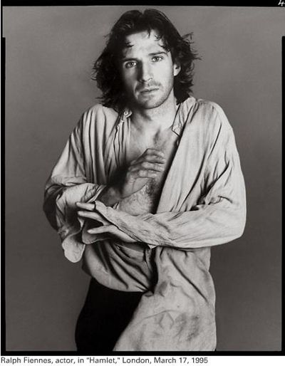 Ralph Fiennes. Shakespeare (Hamlet, to be technical) and a handsome dude. I see nothing wrong with this.
