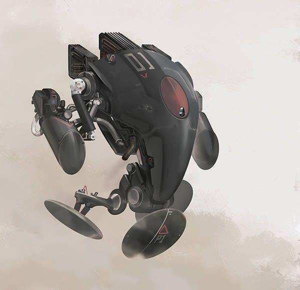 Create a Futuristic Combat Robot in Photoshop – Tuts  Premium Tutorial (via psd.tutsplus.com)